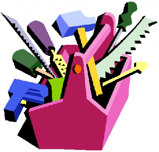 """We get to decide what """"tools"""" we need as life learners..."""