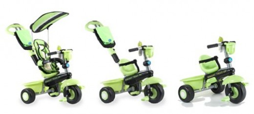 The three stages of the Smart Trike