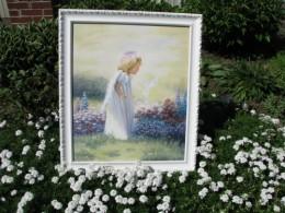 Spiritual oil painting