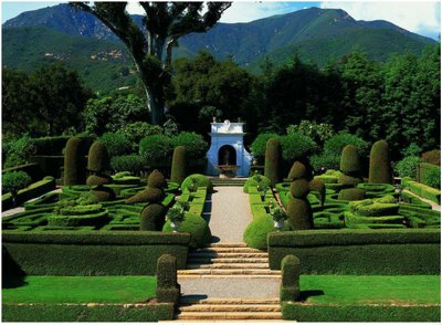 Il Brolino garden design by Florence Yoch and Lucile Council.