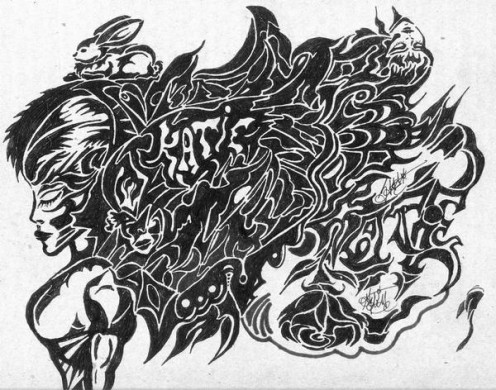 I draw many pictures that reflect my dreams, nightmares and supernatural experiences.