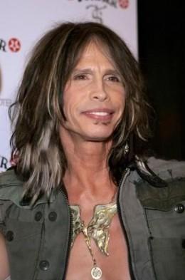 Steven Tyler hairstyle.