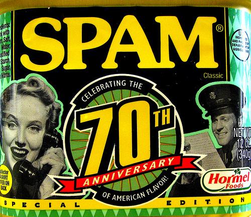 No more Spam please!