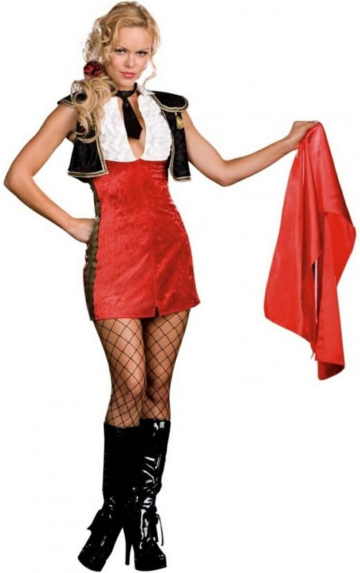 Bullfighter Tori Adore Adult Costume