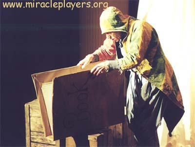 From the Miracle Players' abridged performance of Everyman.
