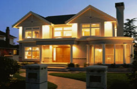 Having a well lit home is important to prevent all kinds of crime from occuring around your home.