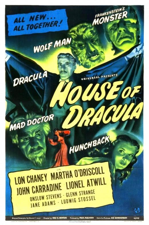 House of Dracula's familiar formula
