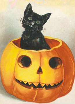 RedElf's hand-drawn Kitty-Lantern was SO cute - numwhanrist7.blogspot.com