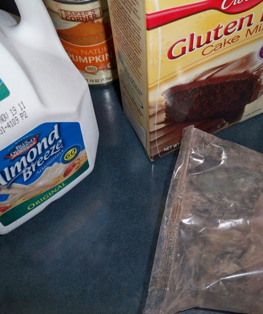 A Curious Beginning for Gluten Free Brownies.