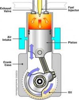 2-stoke diesel engine