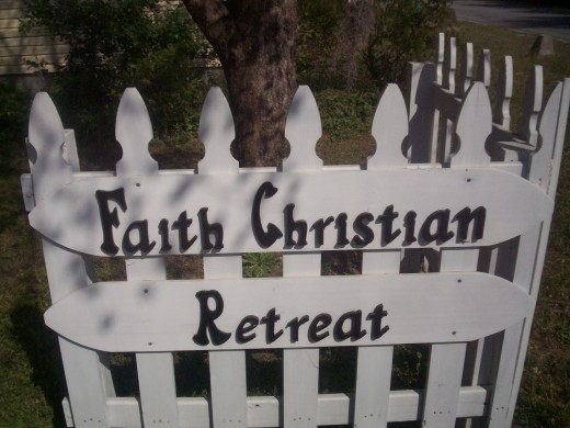 Faith Christian Retreat founded by Thelma Bevill Thorpe in 1984 while she owned the homeplace 1944 -2002