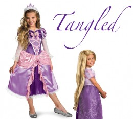Pretty in Purple - Girls Costume Inspired by Rapunzel