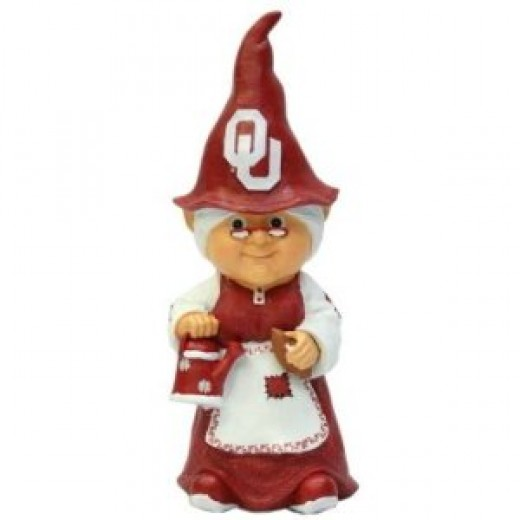 Oklahoma Sooners Garden Gnome Gifts