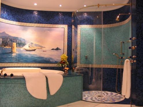 Burj Al Arab Penthouse suite bathroom