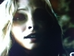 Caroline, help captive, is surprised to see someone she knows: her father.