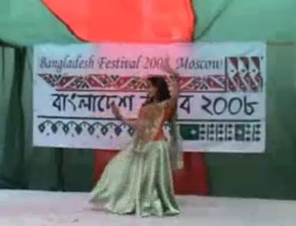 Bangla dance on Pohela Boishakh