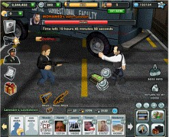 Crime City Game on Facebook