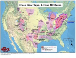 States with shale oil resources.