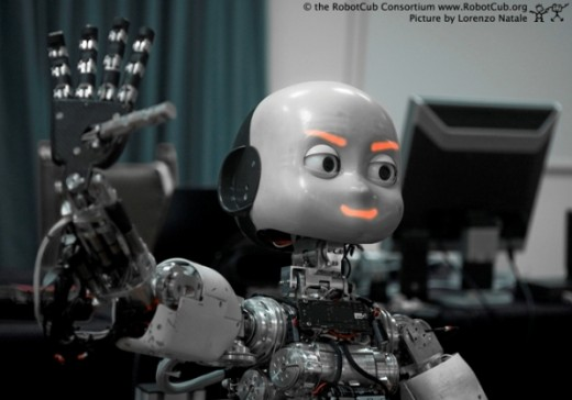 iCUB is the word's first open humanoid robot