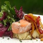Fresh and flavourful Pan Fried Tasmanian Salmon with Teriyaki Sauce