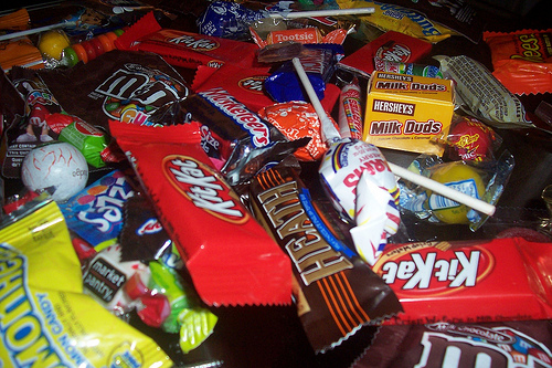 Halloween candy is yummy, but you should avoid it!