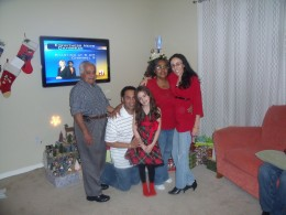Love with his family - Christmas Eve