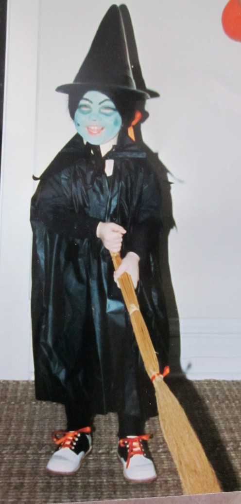 "Nicole as a ""Witch"" '85"