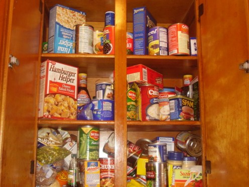 Food in Pantry