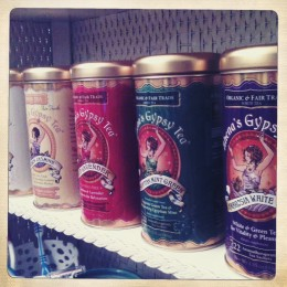 A Rainbow of Gypsy Tea Tins!