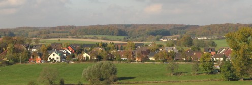 Fennange seen from the south (2008).