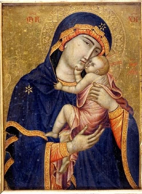 The Cambrai Madonna, 1340