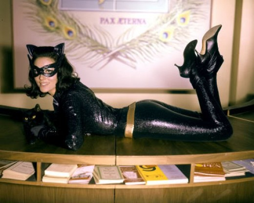 Purrfect Pose: Catwoman Lee Meriwether