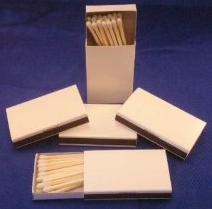Plain wooden matches may be your perfect match.