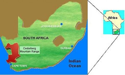 Cape Cedarberg region, South Africa