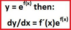 Differentiating the exponential function. The derivative of e^x.