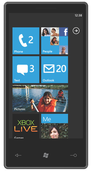 windows phone 7 with metro ui - cool, stylish, intuitive