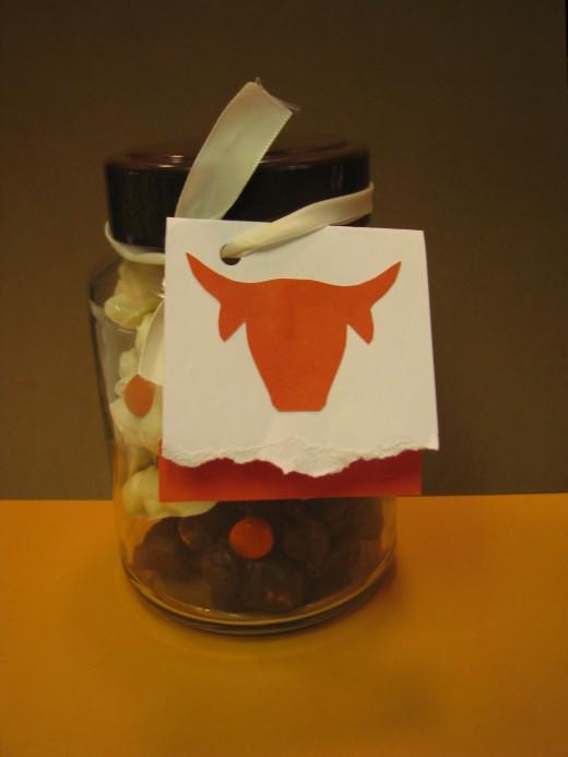 Sports Fan Candy Jar Gift