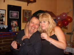 Me with my lovely John