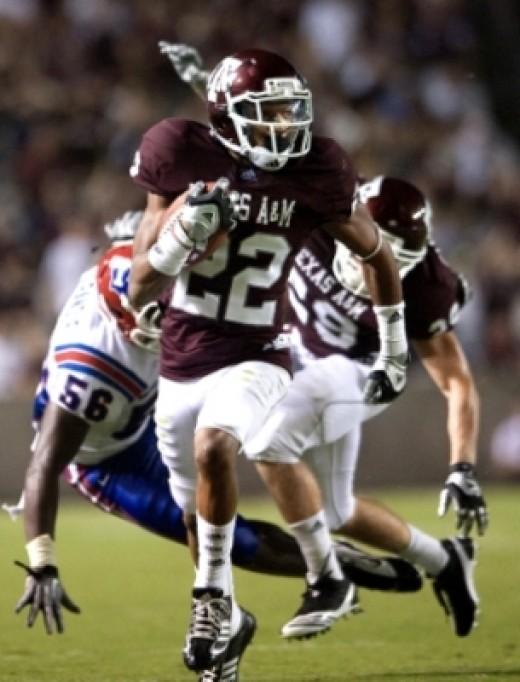 CB Dustin Harris (Texas A&M)