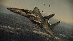 """F-15C Eagle in """"Death Rider"""" paint job."""