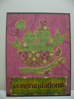 Easy to Make Cricut Card Idea: Congratulations