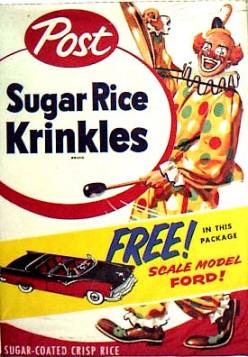 Post Sugar Rice Krinkles