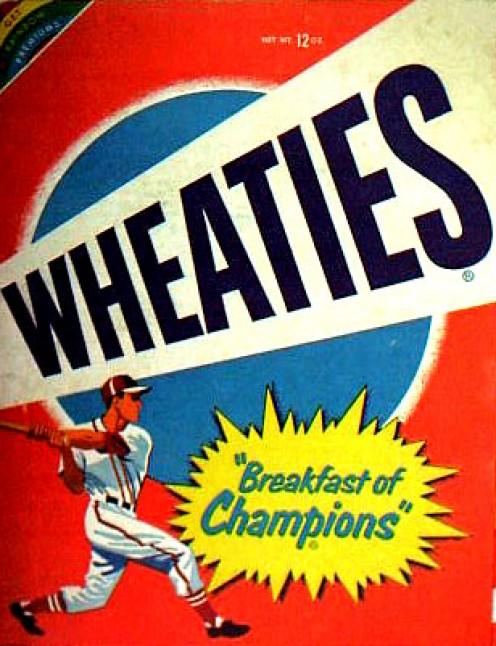 General Mills Wheaties. Breakfast of Champions.
