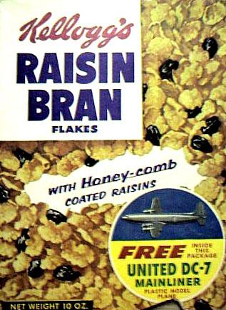 Kellogg's Raisin Bran.