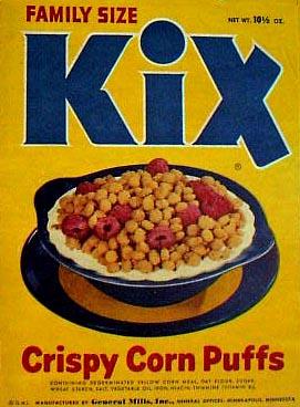 General Mills Kix.