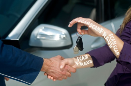 Be very wise when buying a car online. There's a lot of cash involved when purchasing a car so be very wise.