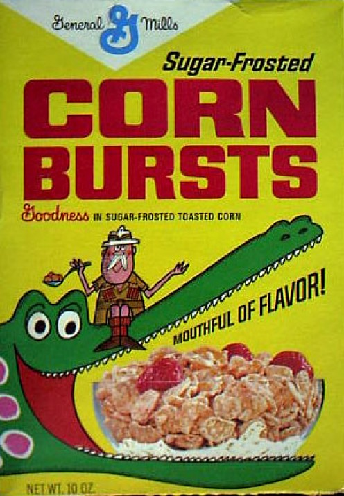 General Mills Corn Bursts.