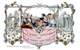 World's first Christmas card!