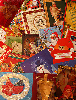 Start early on those Christmas letters to send with your cards!