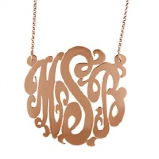 Monogram Initial Jewelry